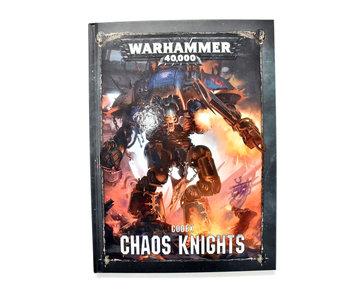 CHAOS KNIGHTS Codex Warhammer 40k  Book