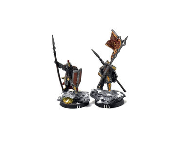 MIDDLE-EARTH Iron Hills Dwarf Command #1 WELL PAINTED Forge World The Hobbit