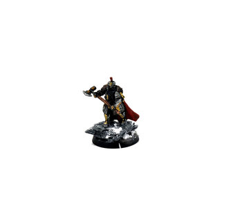 MIDDLE-EARTH Iron Hills Dwarf Captain with Mattocks WELL PAINTED FW Forge world