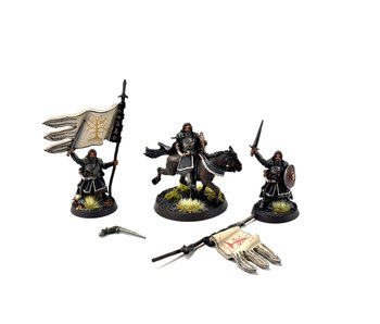 MIDDLE-EARTH Boromir, Captain of The White Tower Foot & Mounted METAL LOTR GW