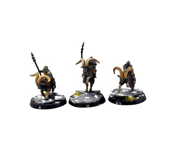 MIDDLE-EARTH Iron Hills 3 Goat Riders #2 PRO PAINTED Forge World The Hobbit