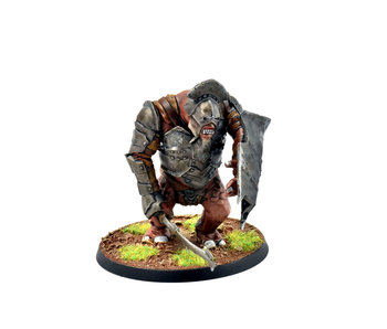 MIDDLE-EARTH Isengard Troll #1 WELL PAINTED LOTR GW