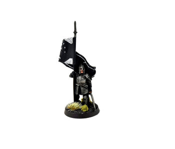 MIDDLE-EARTH Gondor Warrior Banner Bearer #1 METAL WELL PAINTED LOTR GW