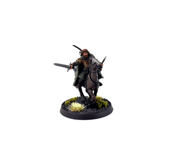 MIDDLE-EARTH Faramir Mounted Converted #3 PRO PAINTED METAL LOTR GW