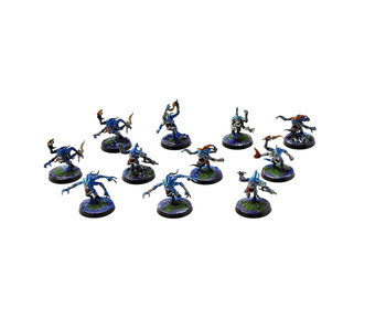 CHAOS DAEMONS 11 Blue Horrors #3 PRO PAINTED Warhammer Sigmar