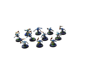 CHAOS DAEMONS 11 Blue Horrors #1 PRO PAINTED Warhammer Sigmar