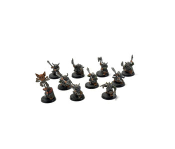 CITIES OF SIGMAR 10 warriors dwarfs with 2 handed axes #1 Sigmar