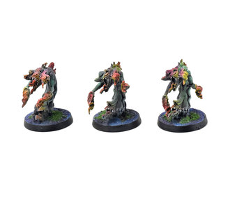 CHAOS DAEMONS 3 Flamers of Tzeentch #4 PRO PAINTED Warhammer Sigmar