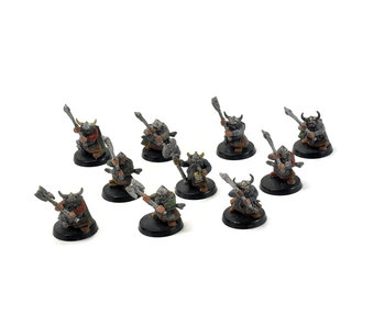 CITIES OF SIGMAR 10 warriors dwarfs with 2 handed axes #2 Sigmar