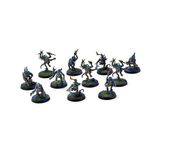 CHAOS DAEMONS 11 Blue Horrors #2 PRO PAINTED Warhammer Sigmar