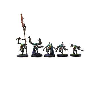 CHAOS DAEMONS 3 Flamers of Tzeentch #3 PRO PAINTED Warhammer Sigmar