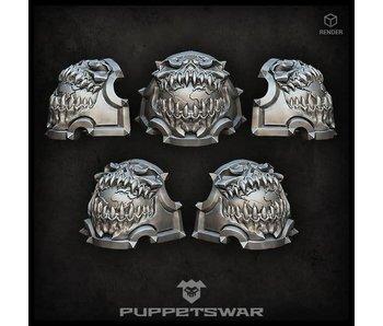 Puppetswar H.I. Planet Devourer Shoulder Pads (S265)