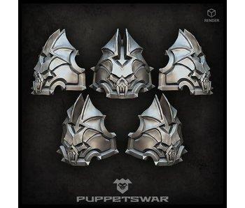 Puppetswar H.I. Vampire Shoulder Pads (S267)
