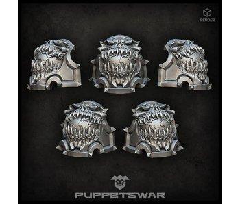Puppetswar Planet Devourer Shoulder Pads (S264)