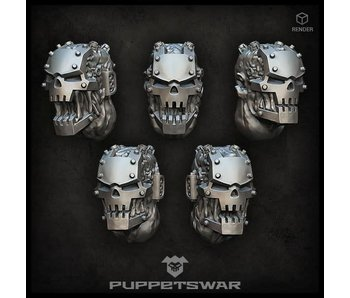 Puppetswar Iron Mutants Heads (S279)