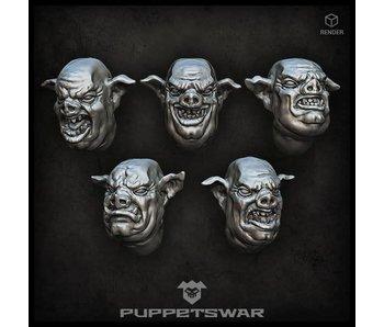 Puppetswar Pig Hybrid Heads (S294)