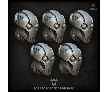 Puppetswar Cyber Droid Heads (S351)