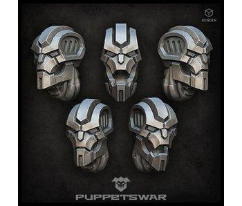 Puppetswar Cyber Skeleton Heads (S352)