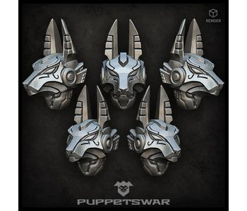 Puppetswar Anubis Helmets v2 (S363)