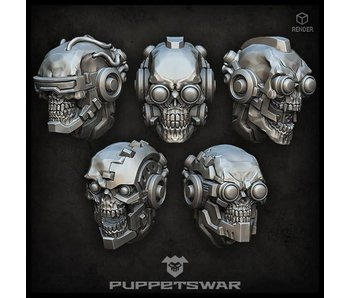 Puppetswar Cyborg Skulls (S371)