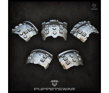 Puppetswar Orc Bushi Shoulder Pads (S400)