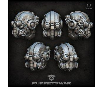 Puppetswar Tech Warrior heads (S407)