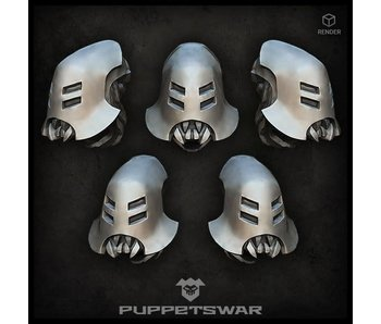 Puppetswar Cyber Insects heads (S408)