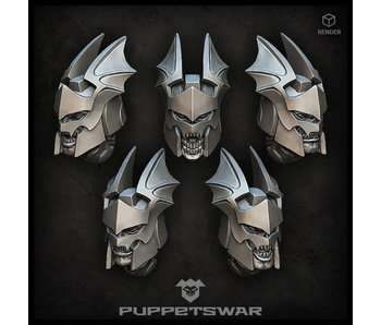 Puppetswar Vampire Guard Heads (S466)