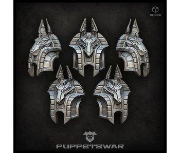 Puppetswar Anubis Shoulder Pads (S246)