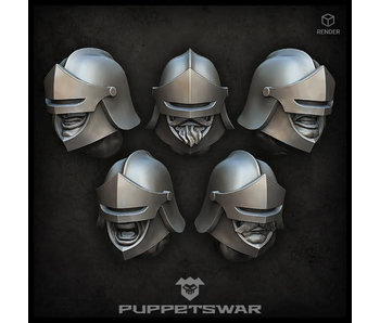 Puppetswar Heavy Sentinel Heads (S470)