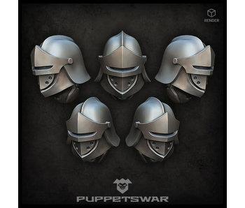 Puppetswar Heavy Sentinel Helmets (S475)