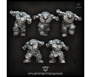Puppetswar Orc Bodies (L021)