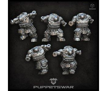 Puppetswar Bushi Orc Bodies (L022)