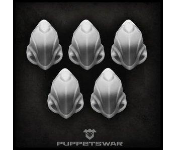 Puppetswar Warden helmets (S089)