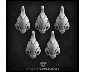 Puppetswar Guardian helmets (S108)