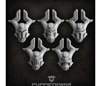 Puppetswar Blood Knights helmets (S119)