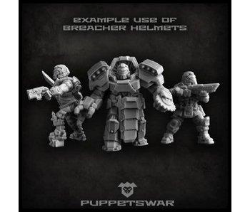 Puppetswar Breachers helmets (S136)