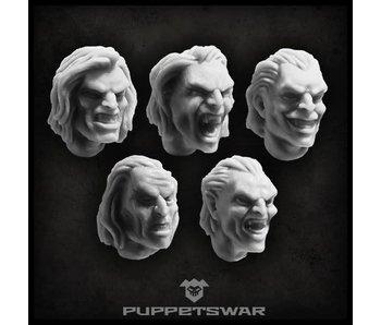 Puppetswar Noble Vampire heads (S139)