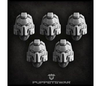 Puppetswar Crushers helmets (S137)