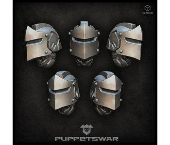 Puppetswar Knight helmets (S143)