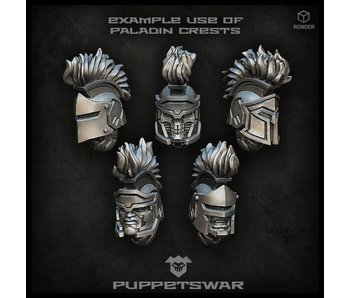 Puppetswar Paladin crests (S144)