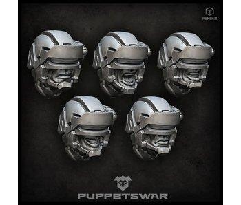 Puppetswar Oppressors heads (S147)