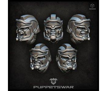 Puppetswar Legionnaires heads (S156)