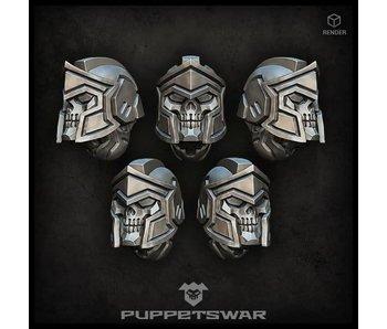 Puppetswar Spartan Reapers helmets (S160)