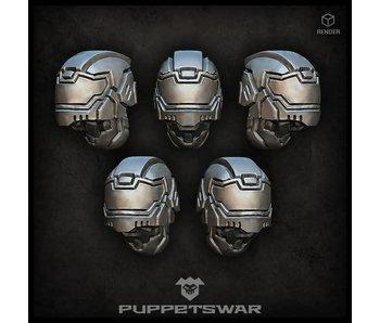 Puppetswar Biker helmets (S166)