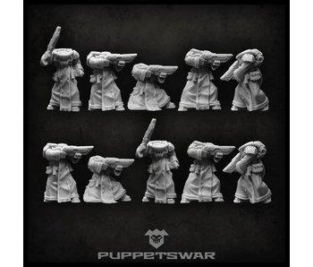 Puppetswar Tech Troopers Bodies (S161)