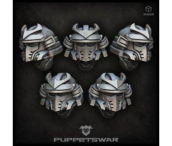 Puppetswar Samurai helmets (S168)