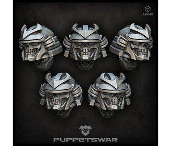 Puppetswar Samurai Reapers helmets (S169)