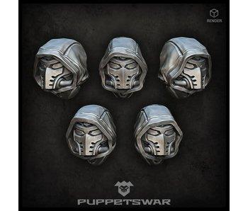 Puppetswar Super Ninja heads (S184)