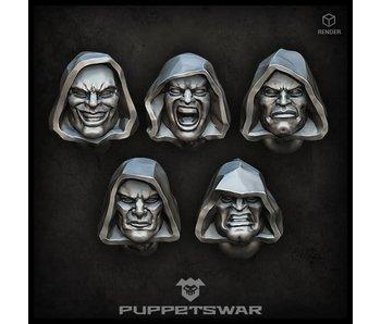 Puppetswar Hooded heads (S208)